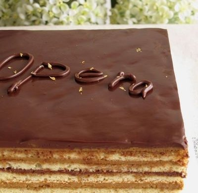 欧培拉歌剧院蛋糕