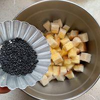 #花10分钟,做一道菜!#香烤吐司丁的做法图解5