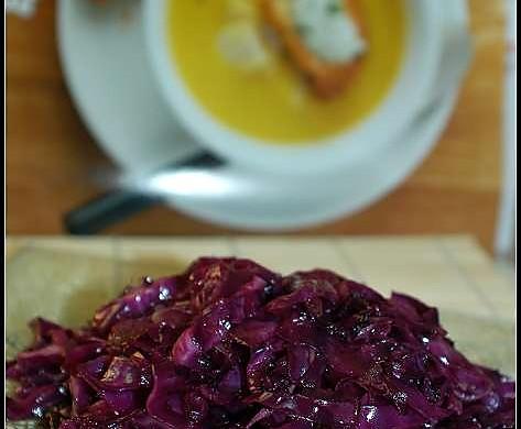 糖醋紫甘兰