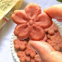 樱花曲奇饼干|空气炸锅版的做法图解16