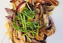 清香黑虎虾的做法