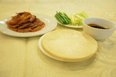 最正宗的美食--北京烤鸭
