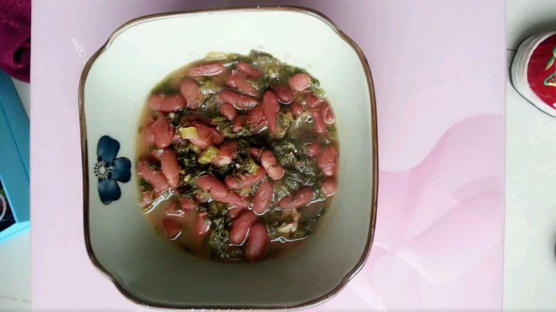 酸菜红豆的做法_【图解】酸菜红豆怎么做如何做好吃