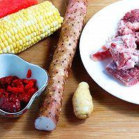 健脾养胃山药玉米排骨汤的做法图解1