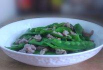 豌豆炒肉丝的做法的做法