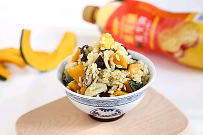 香菇南瓜焖饭