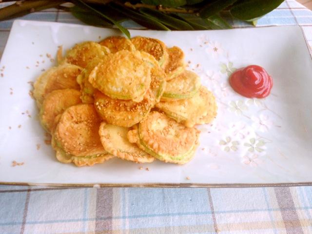 角瓜饼的做法大全_韩式角瓜\