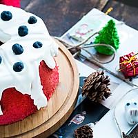 【圣诞季】红丝绒奶油蛋糕圣诞气氛满分