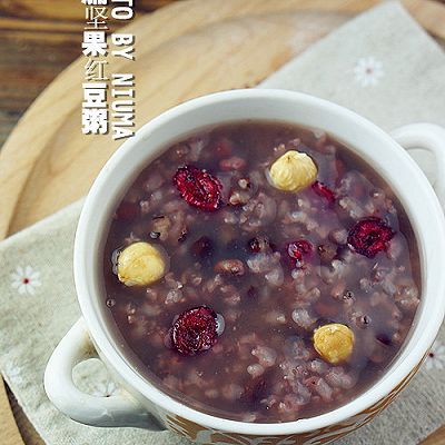 蔓越莓红豆粥