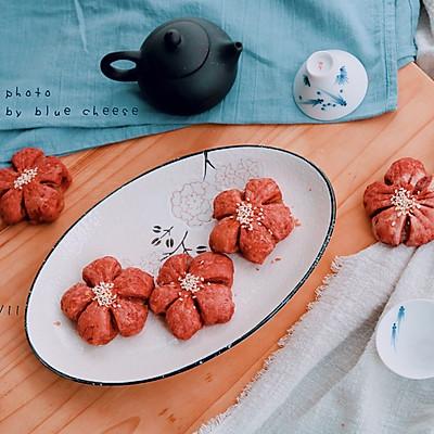 樱花酥的做法 步骤24