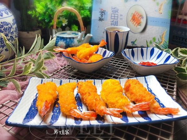 天妇罗~#脊岭岛盐田虾美味大挑战#的做法