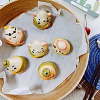 宝宝主食系列~粽子馒头的做法图解9