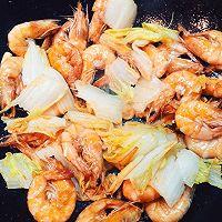 大虾烧白菜—超好吃的经典菜的做法图解4