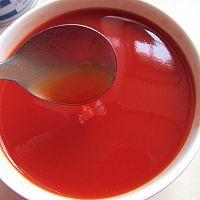 番茄汁双色果冻的做法图解6