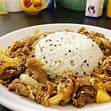 #餐桌上的春日限定#【上班族简菜】日式肥牛饭