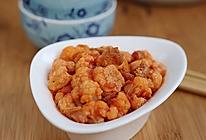 海米番茄菜花的做法