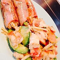 蒸大虾沙拉(大长今剧中料理改良)的做法图解7