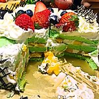 8寸生日蛋糕(方形)的做法图解19