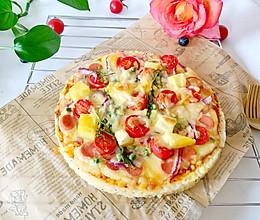 #全电厨王料理挑战赛热力开战!#菠萝米饭披萨的做法
