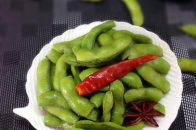 五香毛豆节