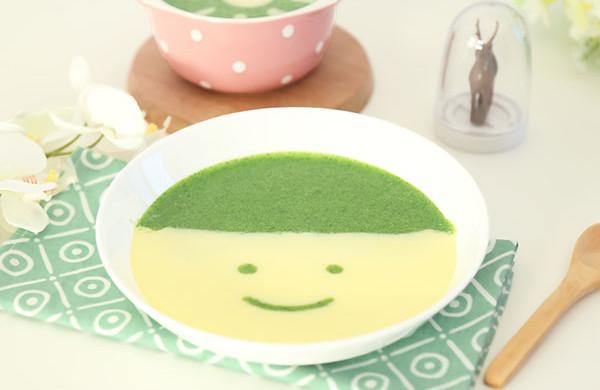 蛋黄青菜糊