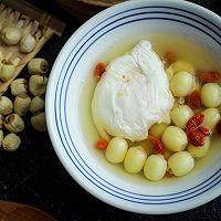 #美食新势力#夏季消暑甜品之鲜莲荷包甜汤的做法图解14