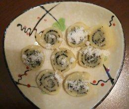 芝麻糯米卷的做法