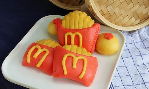 麦当劳薯条馒头的做法