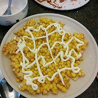经典色拉酱格子玉米酪~