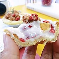 #肉食者联盟#草莓酸奶挞的做法图解10