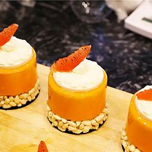 永葆青春的木瓜西柚慕斯蛋糕你要吗