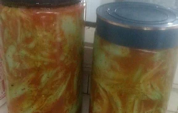 腌制酸辣白菜的做法