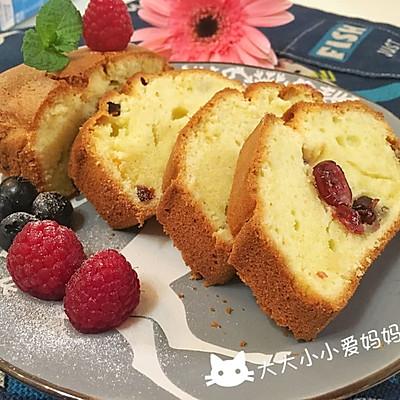 蔓越莓重磅蛋糕