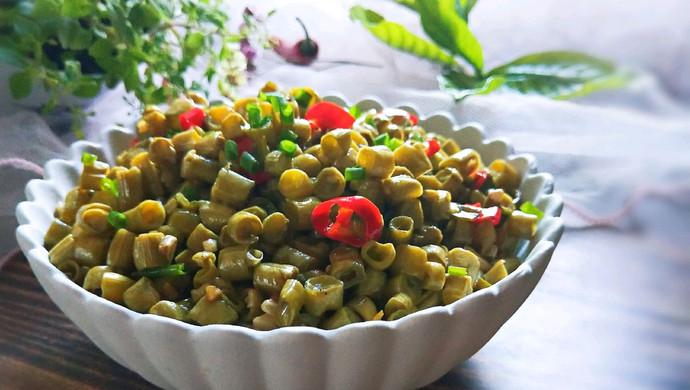#父亲节,给老爸做道菜#清炒酸豇豆