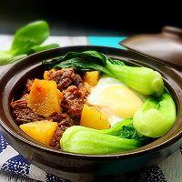 土豆牛腩煲仔饭