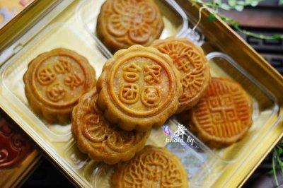 广式椰蓉蛋黄月饼