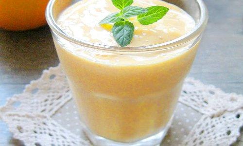 芒果冰奶昔的做法