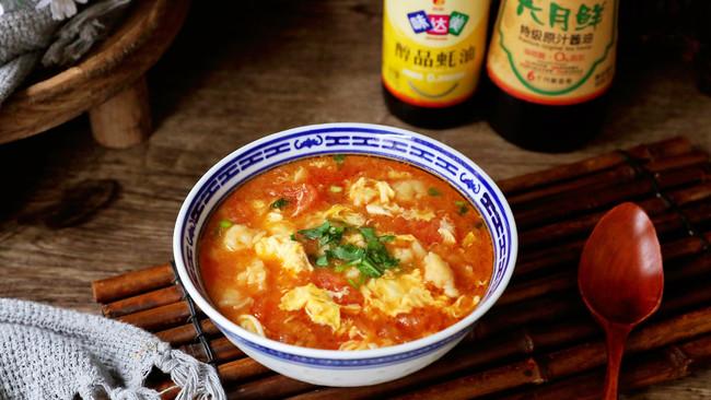 西红柿面疙瘩汤的做法