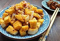 蒜香炒馍的做法