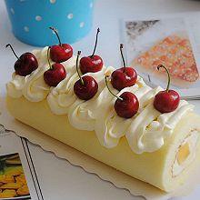 水果奶油蛋糕卷#美的烤箱菜谱#