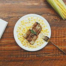 奶油玉米培根卷