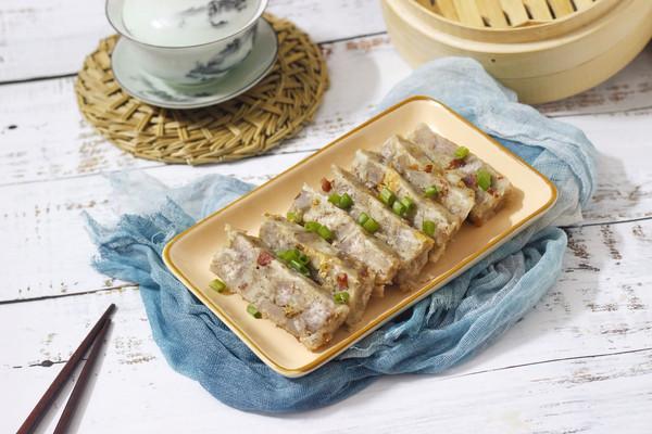 零失败的腊肠虾米芋头糕的做法
