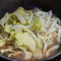 白菜豆腐闷小菇的做法图解5