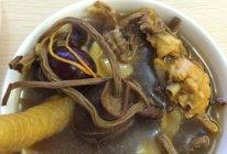 茶树菇炖土鸡汤的做法