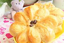 花型椰蓉面包的做法
