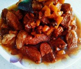 红腐乳炖肉的做法