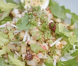藜麦 青稞鲜果健康沙拉的做法