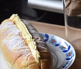 毛毛虫芝士奶昔面包的做法