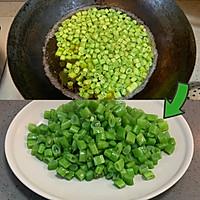 肉末橄榄菜炒四季豆的做法图解2