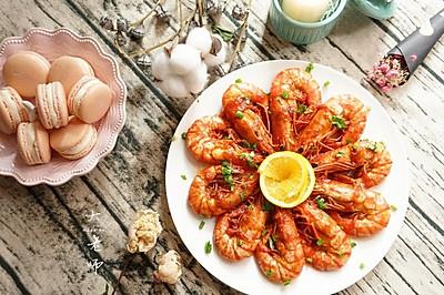 舌尖上的《中餐厅》—橙香茄汁大虾